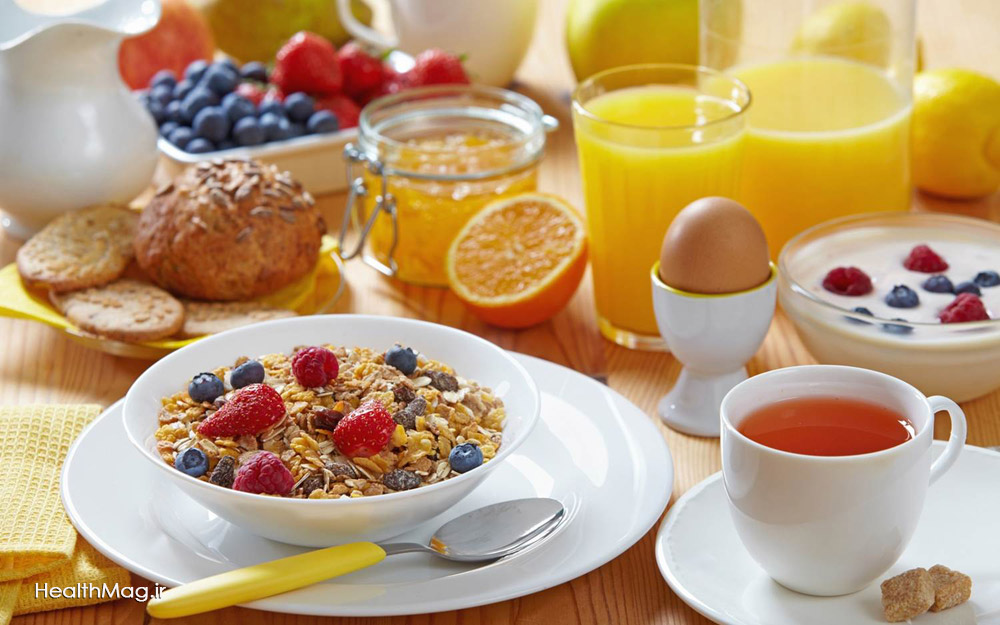 صبحانه سالم