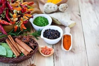 درمان های خانگی خوراکی در آشپزخانه