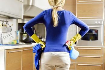 خانه داری و لاغری – ۵ راه کاهش وزن با کارهای خانه