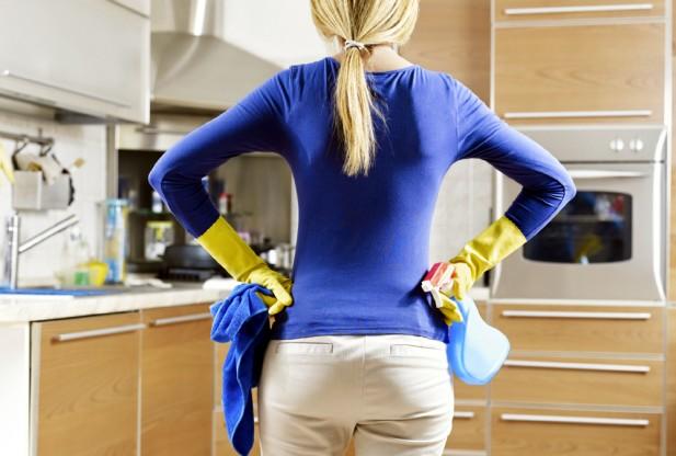 لاغری با انجام کارهای خانه