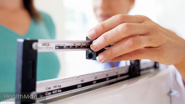 کاهش وزن ترازو