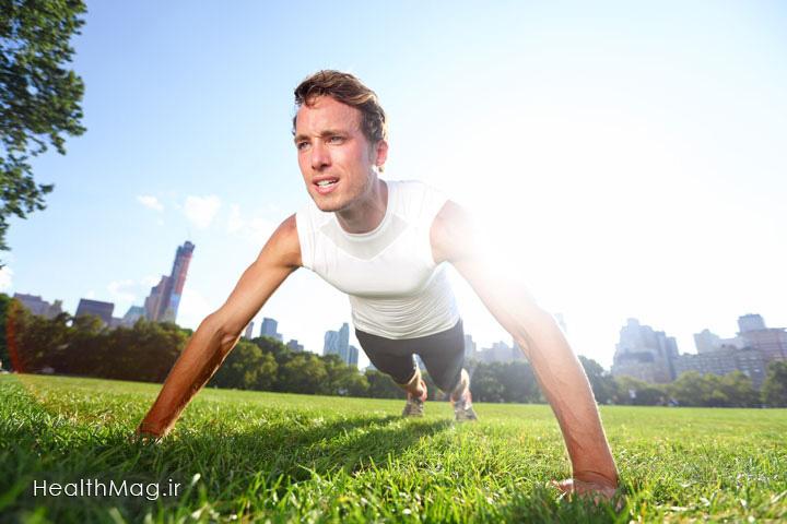 مرد ورزشکار