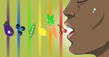 تغذیه رنگین کمانی