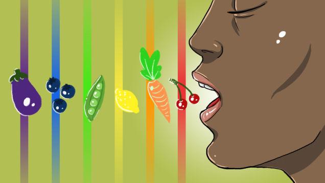 رژیم غذایی رنگین کمان؛ تغذیه رنگین کمانی چیست؟
