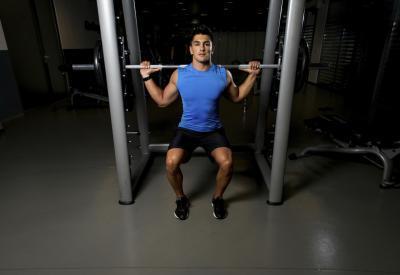 چطور حجم عضله را بالا ببریم,افزایش حجم عضلات,تمرین اسکات