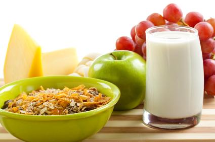 مصرف کالری کمتر,صبحانه کامل