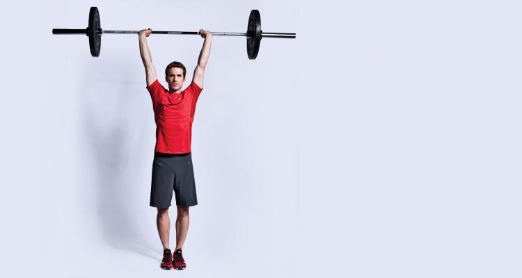 چطور حجم عضله را بالا ببریم,افزایش حجم عضلات,پرس سرشانه
