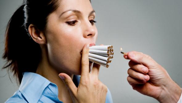 دلیل پیری زودرس,کشیدن سیگار
