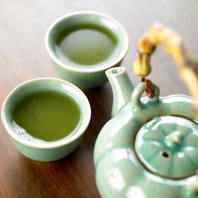 غذاهای مفید برای کاهش کلسترول خون,چای سبز