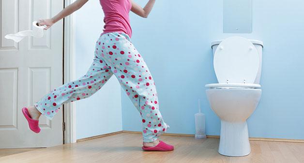 عوارض ادرار نکردن و دیر به دستشویی رفتن