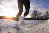 دویدن در زمستان