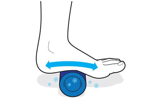 pv0914 footroll chris philpot سه حرکت برای کاهش درد پاشنه پا