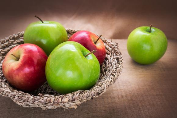 سیب سبز سرخ