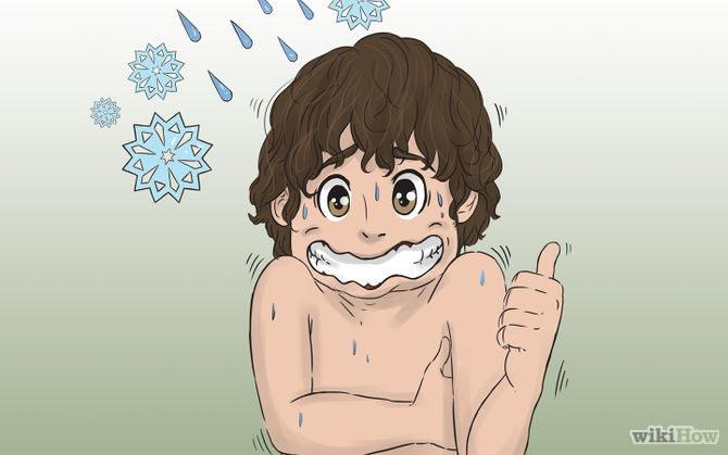حمام آب سرد برای جلوگیری از خودارضایی
