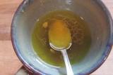 روغن زیتون و آب لیمو