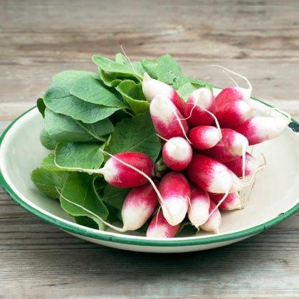 کالری سبزیجات,radishes ترب