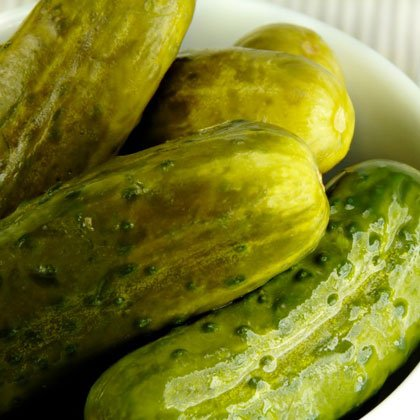 کالری سبزیجات,ترشی خیار-dill-pickles