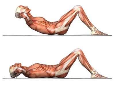 Crunches چگونه عضلات شکم را پرورش دهیم؟