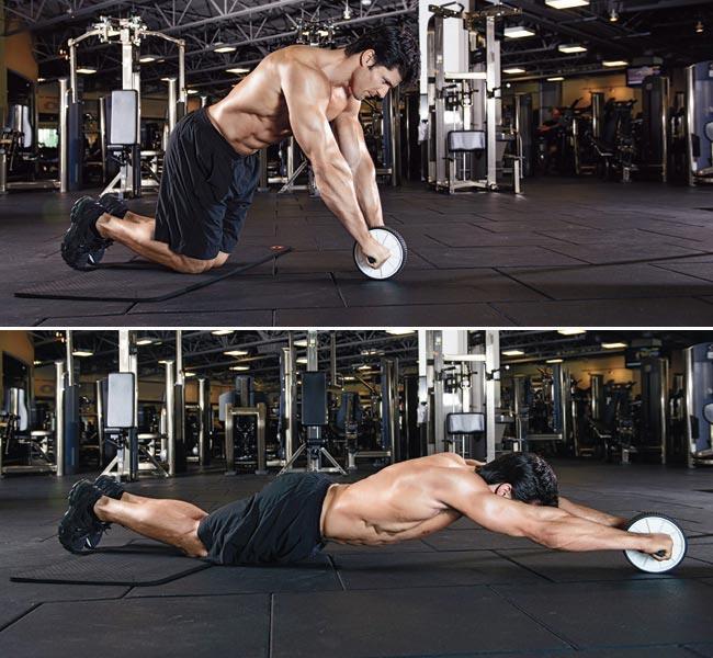 Rollout چگونه عضلات شکم را پرورش دهیم؟