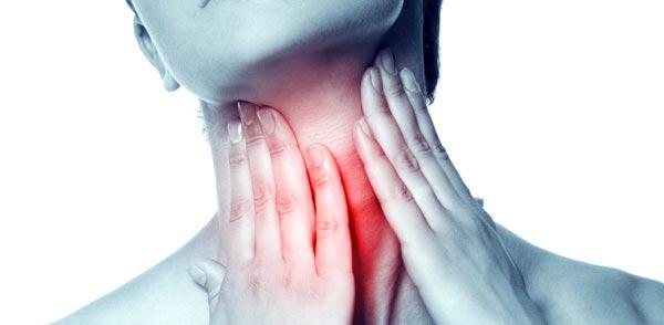 درمان گلودرد شدید