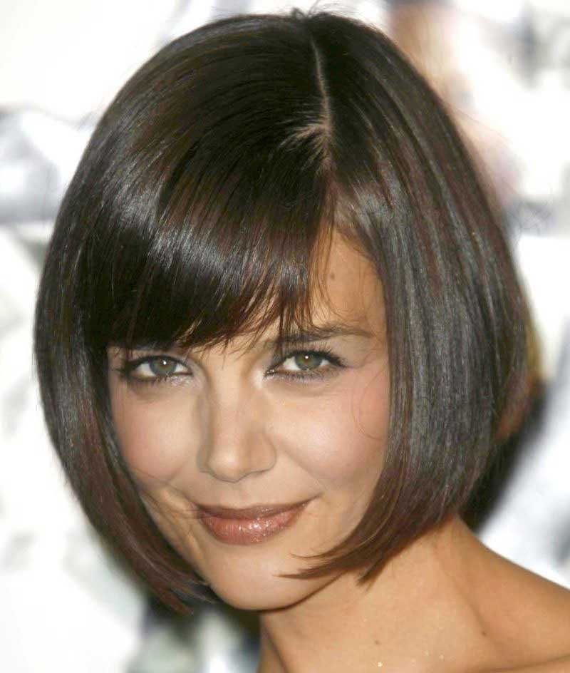 مدل مو برای صورت گرد