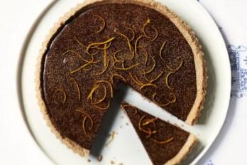 طرز تهیه تارت پرتغال و شکلات