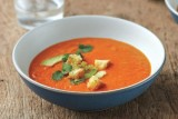 دستور پخت سوپ فلفل دلمهای