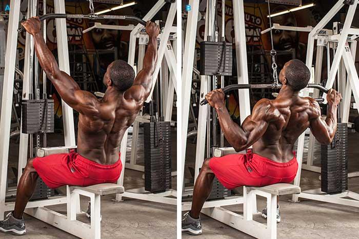 تمرینات قدرتی برای کاهش وزن,Reverse-Grip-Pulldown
