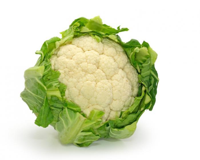 خواص گل کلم,فواید گل کلم سفید cauliflower