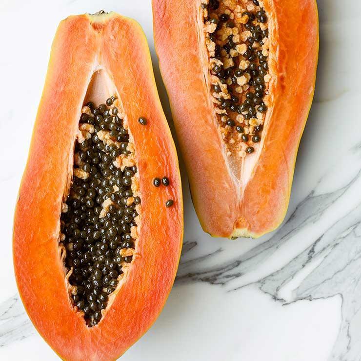 پاپایا کپسول ویتامین C