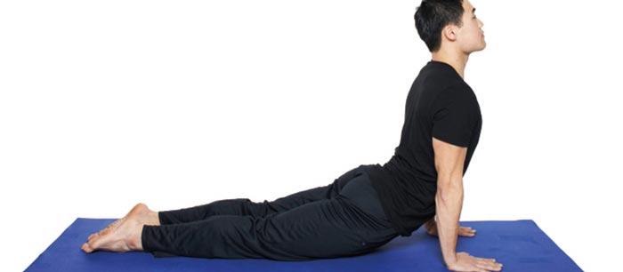 ورزش یوگا تقویت تخمدان,حرکت مار کبرا یوگا Bhujangasana
