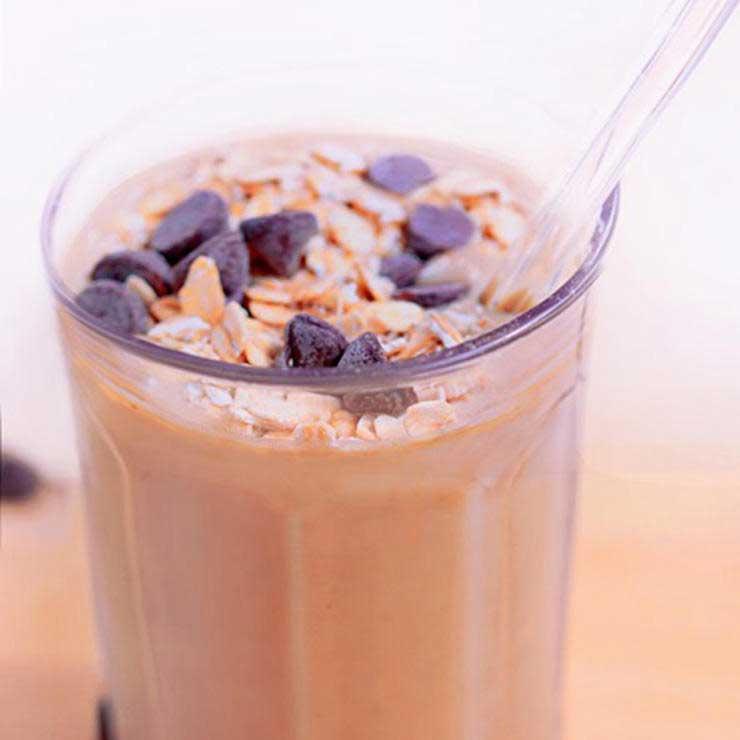 انواع میلک شیک,شیک پروتئینی کوکی خمیری