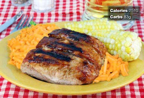 غذاهای مفید و مضر برای صبحانه افراد دیابتی,بشقاب گوشت دنده