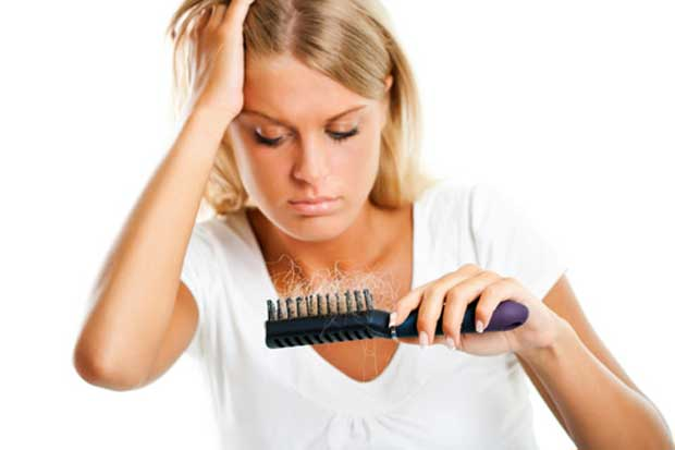 ریزش مو بعد از بارداری