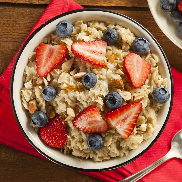 برای درمان آفتاب سوختگی چه بخوریم,oatmeal-جوی دوسر