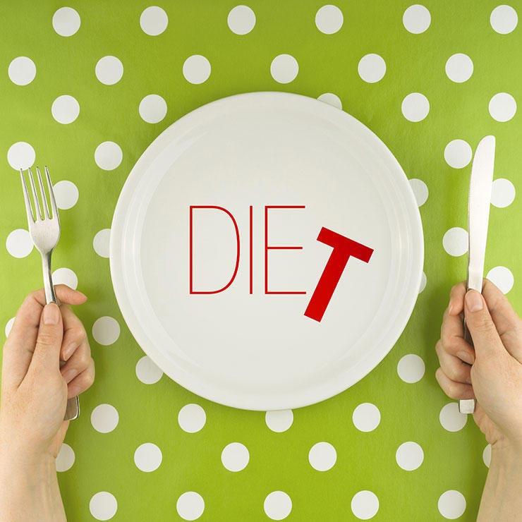 اشتباهات رایج در لاغری,رژیم کاهش وزن