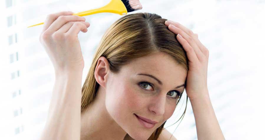 چگونه رنگ موی سر را با جوش شیرین پاک کنیم؟