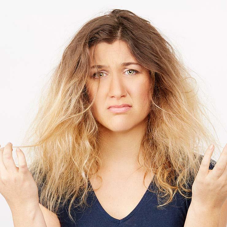 مراقبت از موهای خشک
