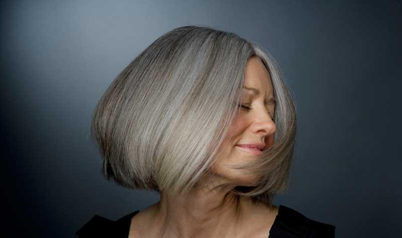 رنگ مو سفید و خاکستری