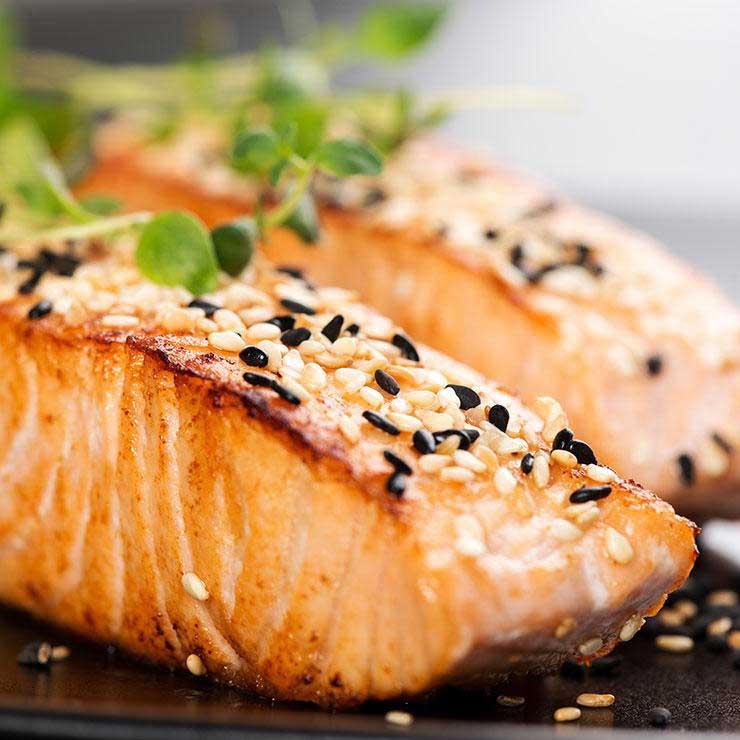 رژیم غذایی درمان میگرن,ماهی و درمان میگرن