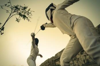 شمشیربازی fencing-in-nature