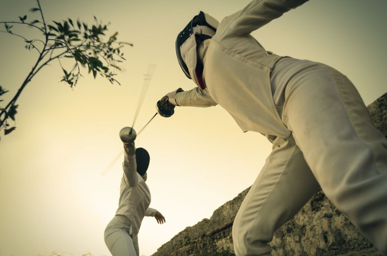 شمشیربازی fencing-in-nature