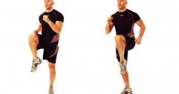حرکت زانو high-knees