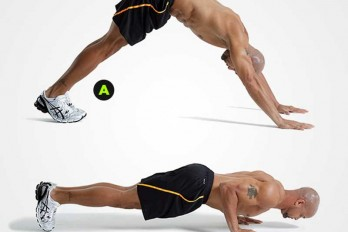 Dive Push-Up