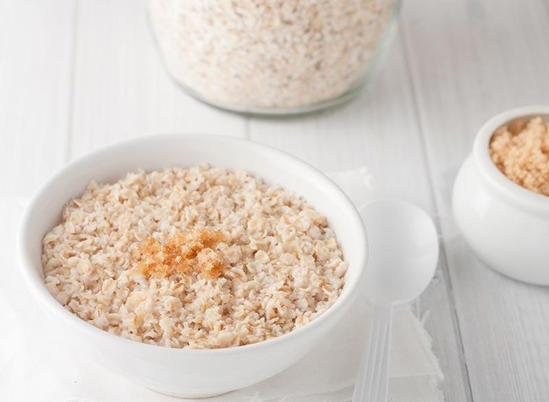 برای صاف شدن شکم چه بخوریم,رژیم غذایی شکم تخت,instant-oatmeal جوی دوسر