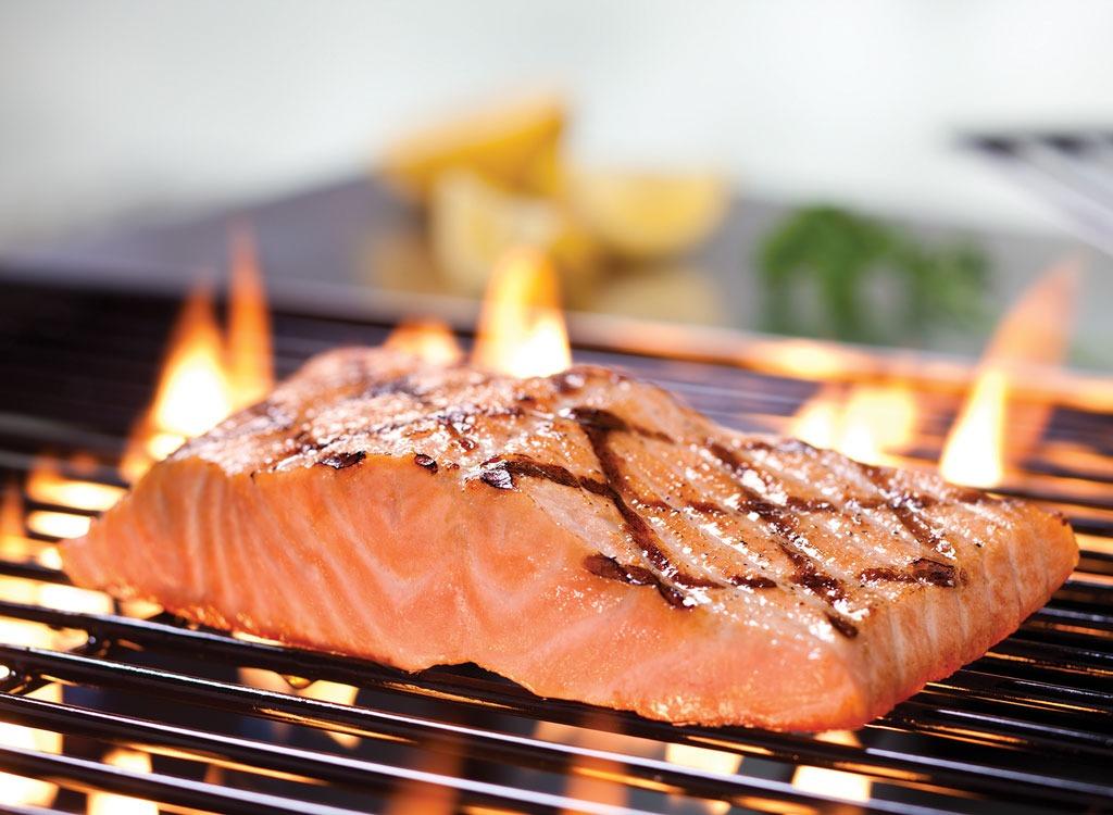 برای صاف شدن شکم چه بخوریم,رژیم غذایی شکم تخت,red-lobster-salmon ماهی