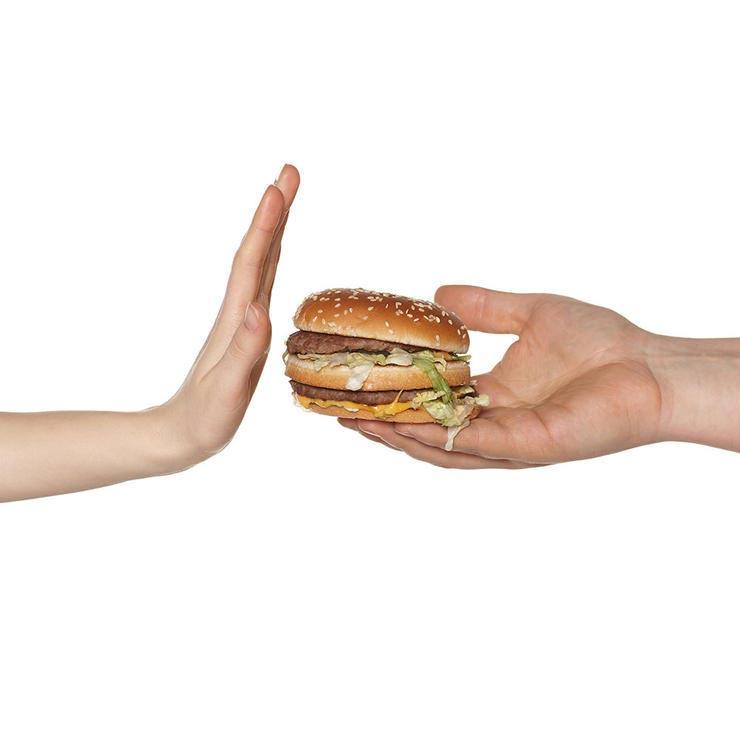 رازهای لاغری,rejecting-burger نه یعنی نه