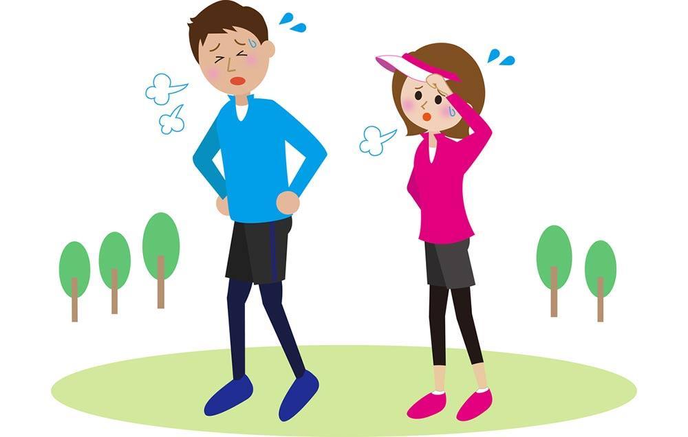 درمان تنگی نفس در ورزش