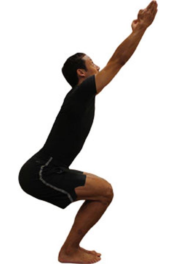 حرکت یوگا کاهش وزن