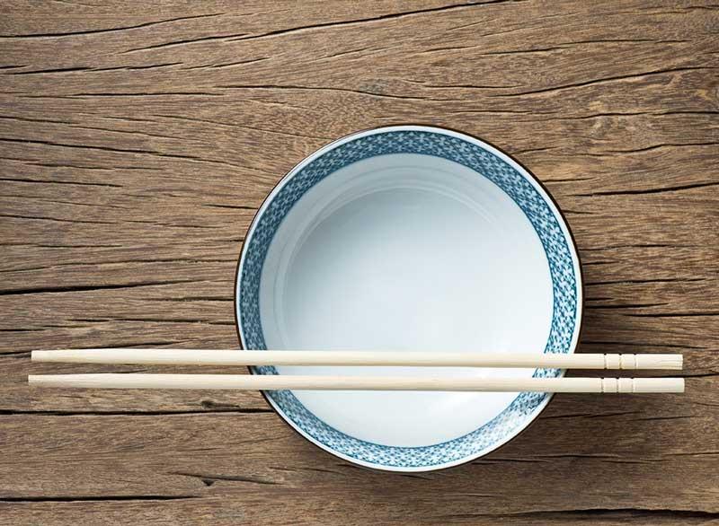 ورزش برای آب کردن چربی پشت کمر,chopsticks-slash-calories-before-you-eat